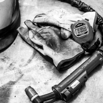 WIG Schweißen Werkzeuge und Material